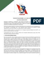 Proyecto de Informe General a La IX and-CGTP-23!09!15.
