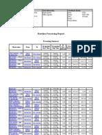 Baseline Processing Report