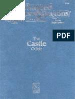 AD&D - The Castle Guide