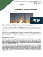 Falcon 9, La Nueva Promesa Del Transporte Espacial