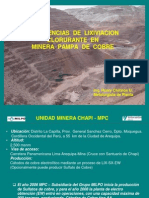 7.Experiencias de Lixiviacion Clorurada en Minera Pampa de Cobre