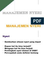 Manajemen Nyeri