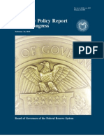 Monthly Monetary Policy Report to the Congress February 2010