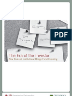 New Rules of Institutional Hedge Fund Investing