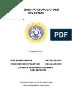 Manajemen Investasi & Portofolio