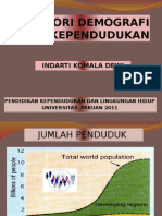 Dt-teori Demografi Dan Kependudukan