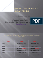 Health Disparities in South Los Angeles - LaVonna Lewis