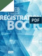 SVA 2015 16 Undergraduate and Graduate Registration Book