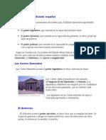 Los Poderes Del Estado Español