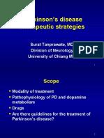 Parkinson disease Rx