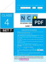 Nco Level1 Class 4 Set 7