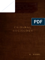 Ferri CriminalSociology