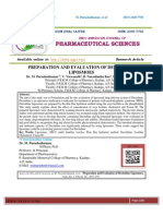 PREPARATION AND EVALUATION OF DECITABINE LIPOSMOES