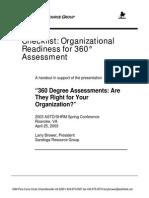 Organizational Readiness 360