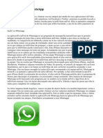 Registrarse en WhatsApp