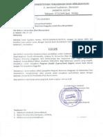 Surat Lulus UDINUS Guru (16 Mhs)