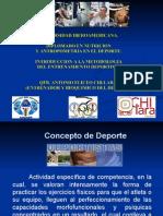 Introduccion a La Metodología Del Entrenamiento Deportivo Ibero