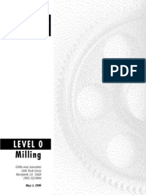 1702 Gibbs Cam -Level 0 Milling | Point And Click | Menu