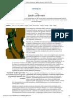 Reforma Constitucional. Iguales y Diferentes