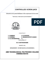 Remote Controlled Screw Jack 2014 Ac
