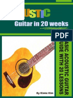 Acoustic Guitar in 20 Weeks - Kimie Kim
