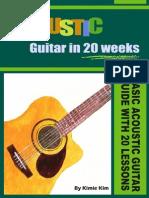Acoustic Guitar in 20 Weeks - Kimie Kim