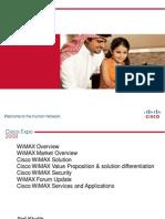 Cisco WiMAX E2E Solution Architecture