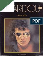 Michel Sardou - Livre d'Or