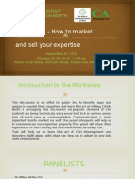 How Market Sell YouExpertise
