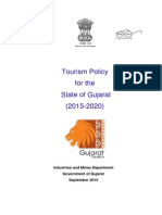 Gujarat Tourism Policy 2015-2020