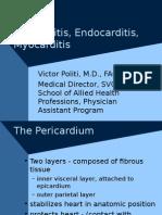 Pericardial Dx Endocarditis Myocarditis