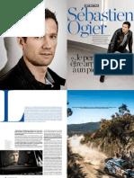 Seb Ogier at L'Equipe Magazine