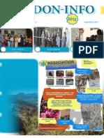 le journal PDF de Septembre  de l'association Verdon-info