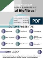 Laporan Praktikum Biofiltrasi POST TEST FIXED
