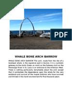 Whale Bone Arch Barrow