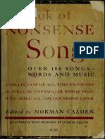A Book of Nonsense Songs (Art eBook)