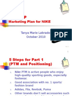 Steps Nike Marketing.ppt