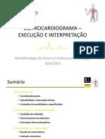 4. Electrocardiograma - execuçao e interpretaçao