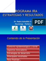 105. P. Astudillo - Programa Nacional de Ira. Estrategias y Resultados