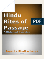 Hindu Rites of Passage a Historical Overview