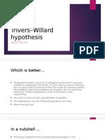 Trivers–Willard hypothesis