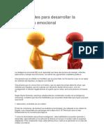 3 Habilidades Para Desarrollar La Inteligencia Emocional