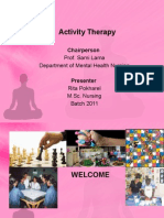 Activity Therapy
