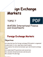 Topic 7 - FE Markets 2015 FV
