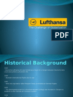 Lufthansa Historical Background