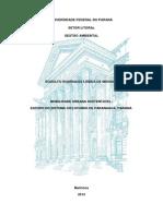 Tcc - Mobilidade Urbana Sustentável Estudo Do Sistema Cicloviário de Paranaguá Paraná Rodolfo r l de Miranda
