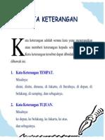 Kata Keterangan Dalam Bahasa Indonesia