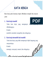 Kata Kerja Dalam Bahasa Indonesia