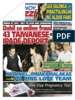 Pinoy Parazzi Vol 8 Issue 118 September 28 - 29, 2015