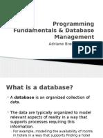 PDM Lesson 1